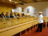 Obisk dijakov in učiteljev iz Pécsa