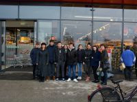 Ogled prenovljenega hipermarketa Spar v Lendavi