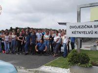 Összetartozunk - dunaszerdahelyi középiskolások Muravidéken
