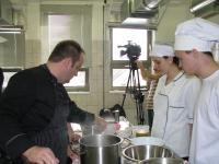 Predstavitev kuharskega mojstra v Monoštru