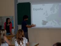 Prostovoljci Španija