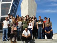 Strokovna ekskurzija v Madrid