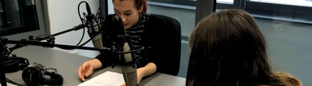 Látogatás a helyi rádió és televízió szerkesztőségébe