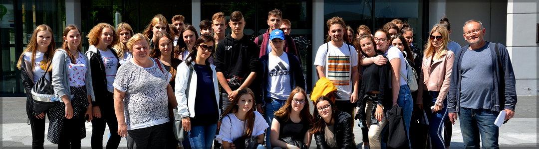 Strokovna ekskurzija »Határtalanul« v Szombathely