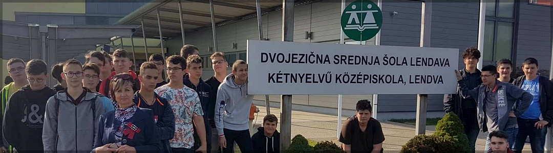 Obisk dijakov in učiteljev iz Szolnoka