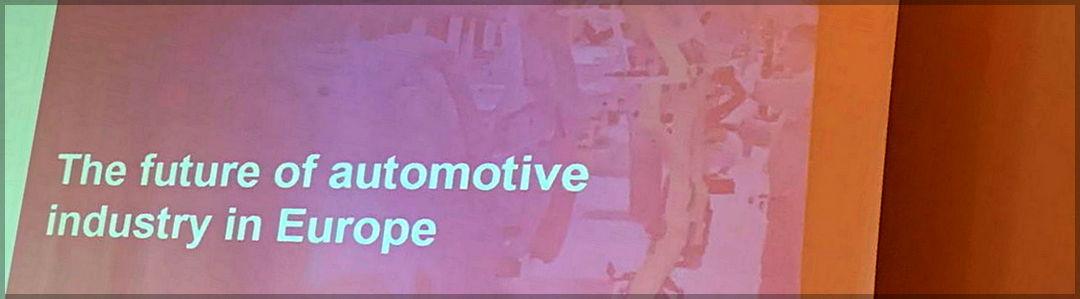 Predavanje o razvoju avtomobilske tehnologije