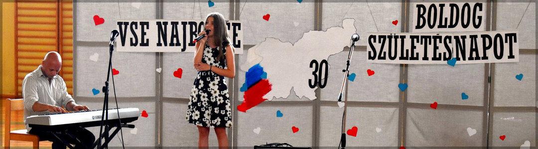 Slovesnost ob 30. obletnici samostojnosti Slovenije in zaključku pouka